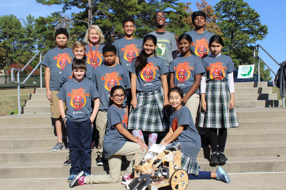 Robot Team goes to Nationals
