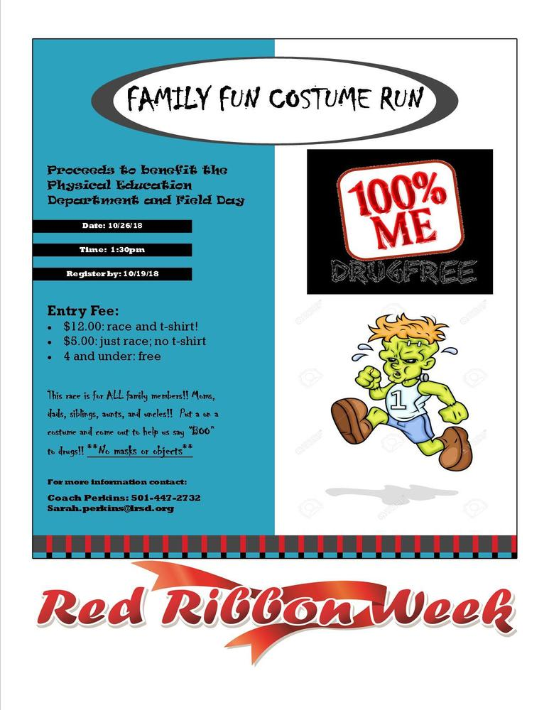 FAMILY FUN COSTUME RUN