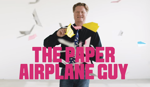 The Paper Airplane Guy to Visit FHSA