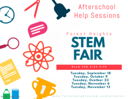 STEM Fair Help Sessions