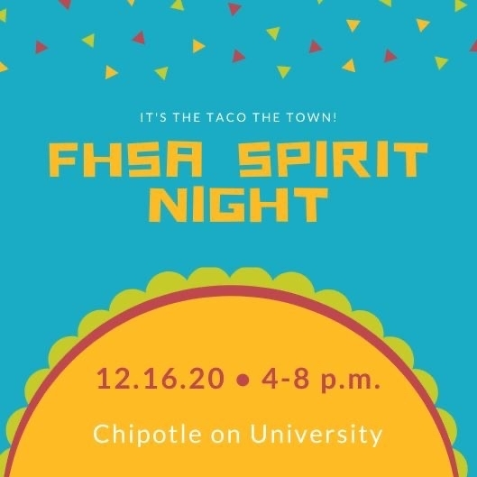 FHSA spirit night