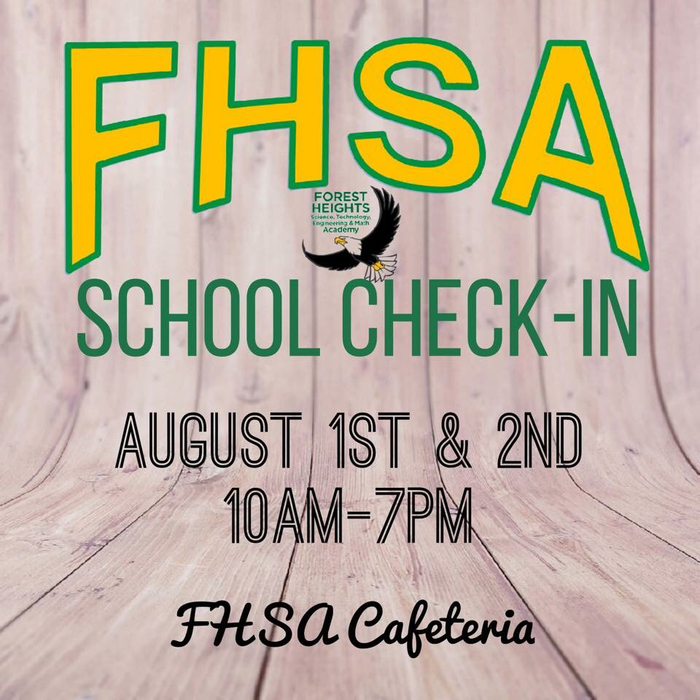 Check in will be 10 a.m. - 7 p.m. Aug. 1 and 2. This is when you'll fill out paperwork that wasn't available during online registration in May, buy spirit wear and more.