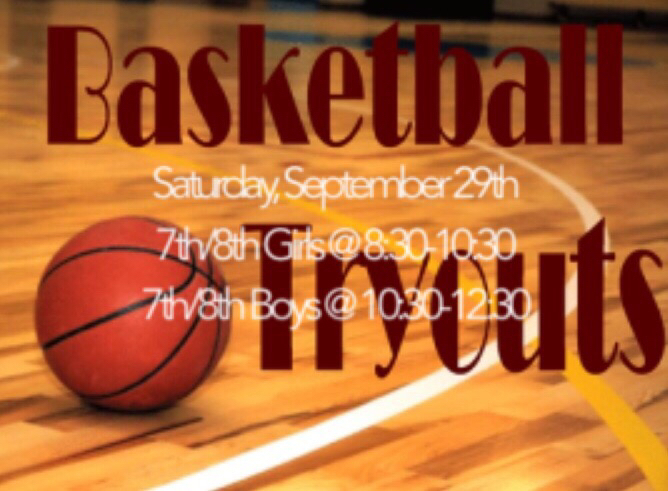 FHSA Basketball Tryouts! Transportation will not be provided!