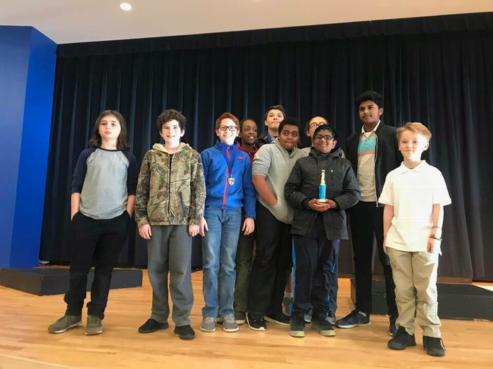 FHSA Chess Club won 2nd place Middle School yesterday at the LRSD Chess Tournament