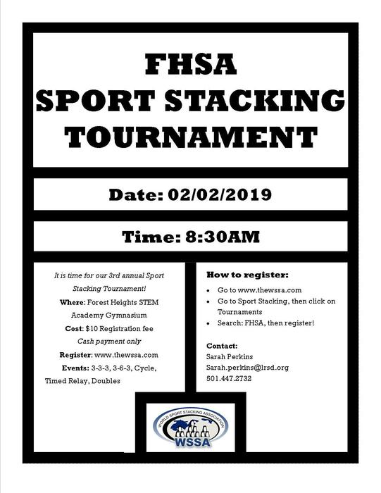 FHSA Sport Stacking Flyer