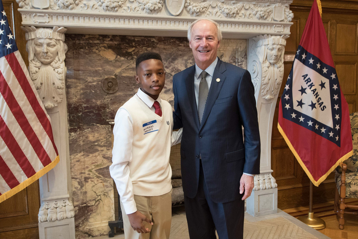 With Governor Hutchinson