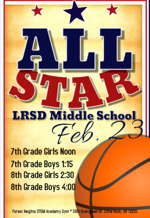 Come out see some of LRSD Middle School players!