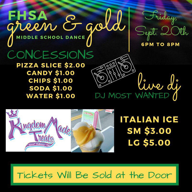 You can still get tickets to the Green & Gold Dance!