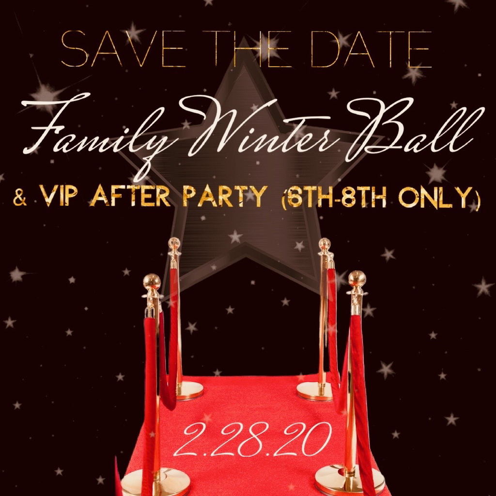 Family Winter Ball is coming soon!