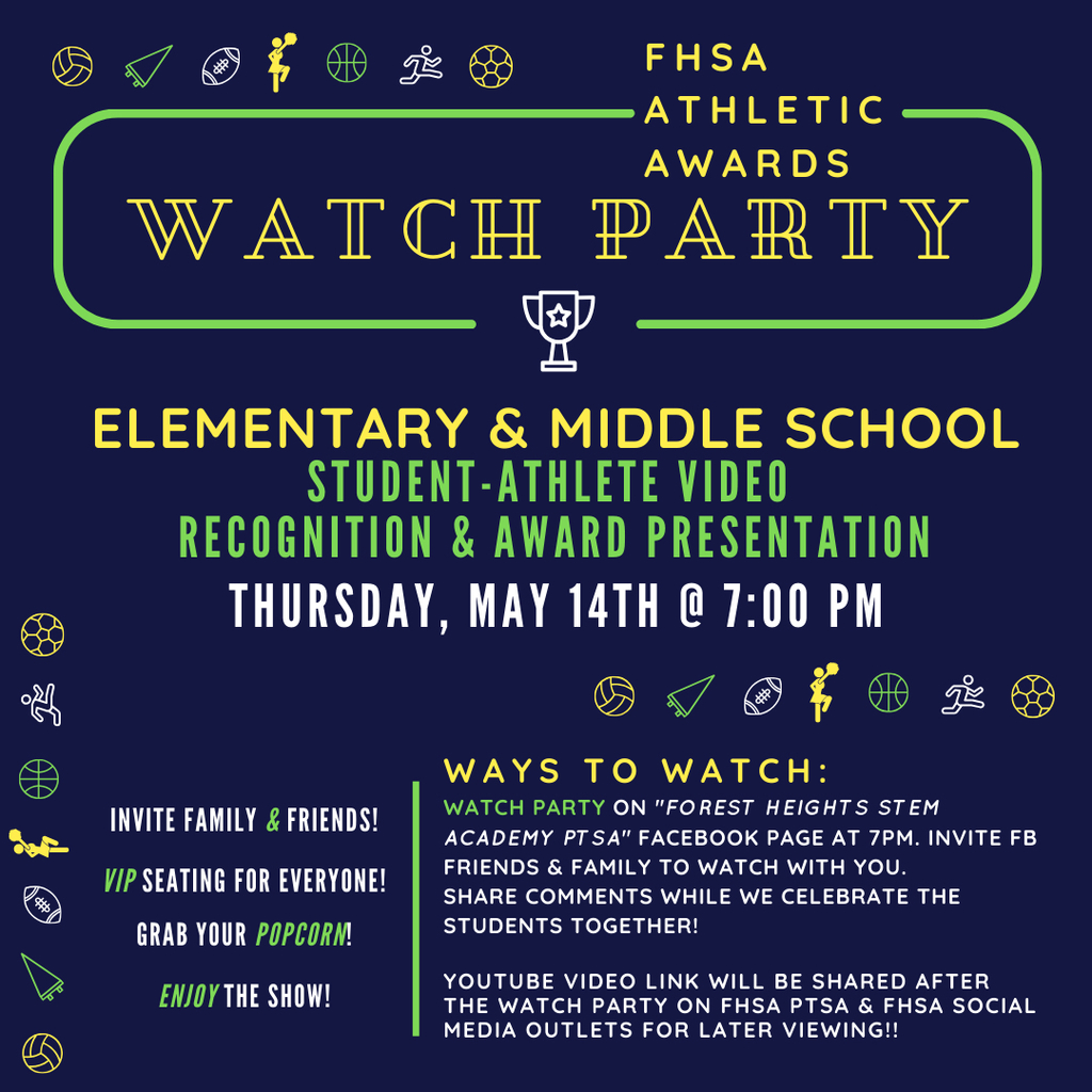 FHSA Athletic Awards watch party